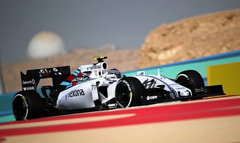 Willimasin Valtteri Bottas on tällä hetkellä MM-sarjassa kuudentena pisteen tallikaveriaan Felipe Massaa jäljessä.
