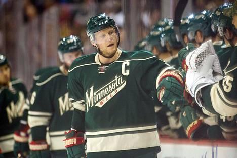 Mikko Koivu on NHL:n pistepörssissä 25:s.