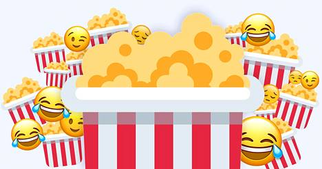"""""""Popparit esiin"""" on tapa sanoa, että popcornin syöjä on itse rationaalinen sivullinen, joka seuraa muiden köhkäämistä kauempaa lähinnä huvittuneena."""