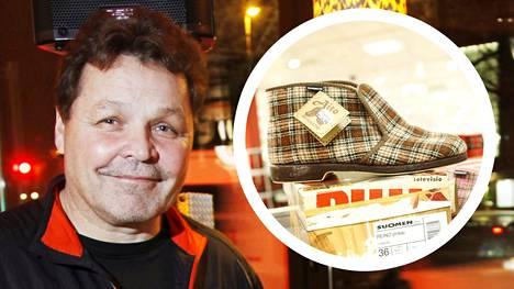 Arto Huhtinen osti yrittäjäkumppaninsa kanssa Reinojen valmistuksen itselleen 15 vuotta sitten.