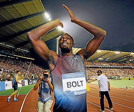 Pikajuoksija Usain Bolt valittiin taas vuoden miesyleisurheilijaksi.