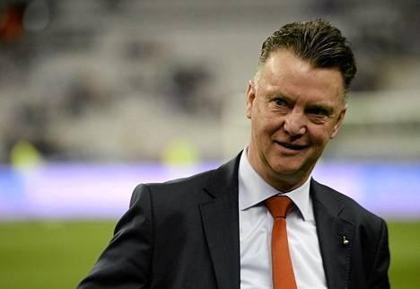 Louis van Gaalia veikataan ManU:n uudeksi päävalmentajaksi.