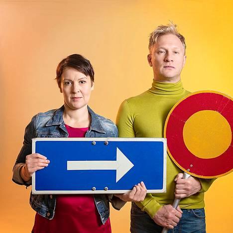 Marjaana (Marika Heiskanen) ja Kai (Tuukka Huttunen) haluavat eri asioita.