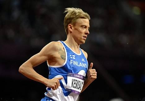 Lontoon olympialaisten estefinaali jäi Jukka Keskisalon uran viimeiseksi kilpailuksi.