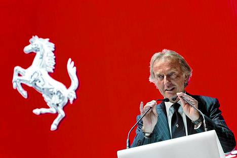 Luca di Montezemolo ei pidä ehdotetusta tuplapistesäännöstä.