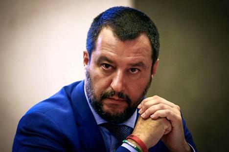 Matteo Salvinin johtama oikeistopopulistinen Lega-puolue on liki kaksinkertaistanut kannatuksensa maaliskuun vaalien jälkeen.