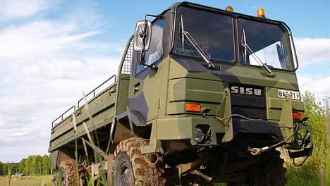 """Sisu SA-150 eli """"Masi"""" Laajasalossa vuonna 2006."""