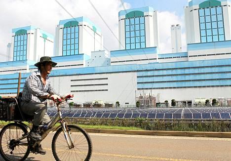 Voimalaitos Dangjinin kaupungissa joudutaan pitämään suljettuna arvioiden mukaan viikon verran.