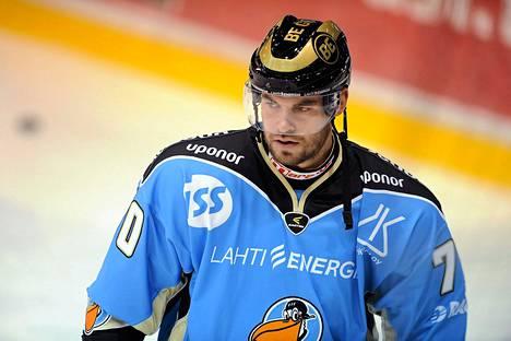 Radek Smolenak pelasi viime syksynä Pelicansissa.