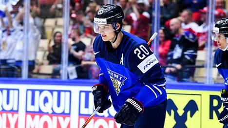 Sebastian Aho oli Suomen joukkueen pisterohmu alkusarjassa.