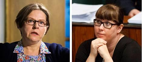 Heidi Hautala, Merja Kyllönen