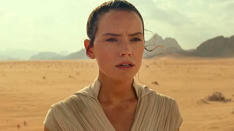 Rey (Daisy Ridley) esiintyy myös uudessa The Rise of Skywalker -elokuvassa.