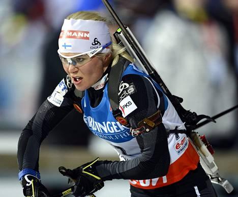 Viides sija on Mari Laukkasen toistaiseksi paras saavutus tällä kaudella.