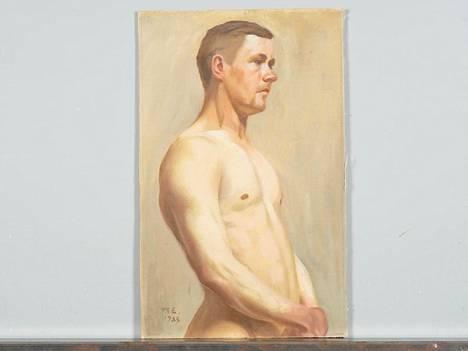 """Magnus Enckellin signeeraama teos vuodelta 1903 on yksi niistä teoksista, joita Helanderin huutokauppa nyt myy. Teosta myydään merkinnällä """"Provenienssi Galerie Hörhammer""""."""