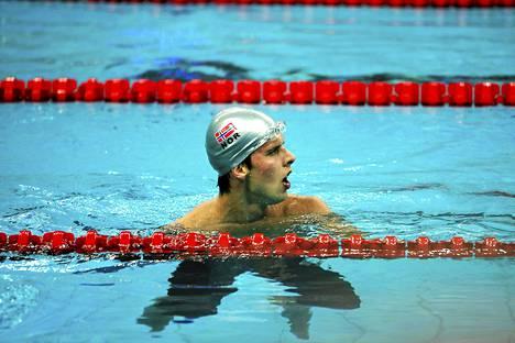 Alexander Dale Oen voitti hopeaa Pekingin olympialaisissa.