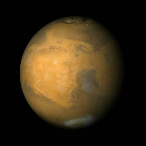 Marsin kaasukehä on hyvin ohut nykyisin. Joskus planeetalla oli jopa meriä.