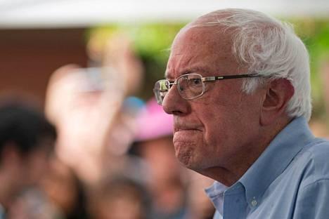 Elokuussa senaattori Bernie Sanders vieraili Iowassa.