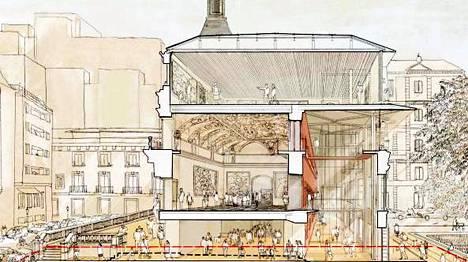 Brittiarkkitehti Norman Foster on valittu toteuttamaan Prado-museon laajennusosa. Madridin ylpeyksiin kuuluvan Pradon Salón de reinos eli Kuninkaiden sali uudistetaan ja laajennetaan. Museo saa laajennuksen yhteydessä 2500 neliömetriä lisätilaa. Norman Fosterin kanssa projektia toteuttaa espanjalaisarkkitehti Carlos Rubio. Laajennuksen kustannusarvio on 30 miljoonaa euroa ja se on ajoitettu valmistuvaksi Pradon 200-vuotisjuhliin vuonna 2019.