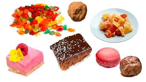 Lisäaineiden liikasaantiriski voi koskea etenkin heitä, jotka syövät hyvin paljon karkkia tai joitain muita prosessoituja elintarvikkeita.