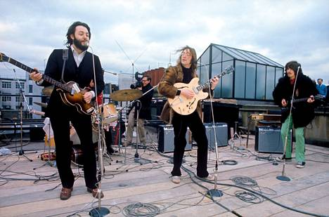 The Beatles 'concert on the roof of Apple's headquarters on January 30, 1969, was the band's last public appearance.