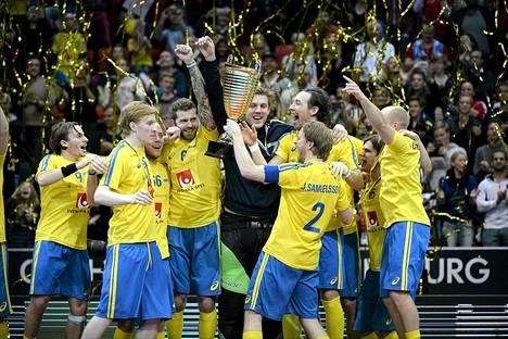 Ruotsi juhli salibandyn maailmanmestaruutta jo kahdeksannen kerran.