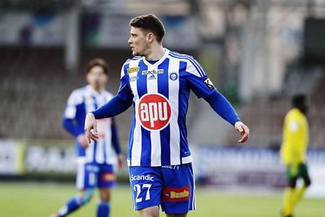 Filip Valenčič teki kauden avausottelussa kaksi maalia Ilvestä vastaan tultuaan vaihdosta kentälle toisella puoliajalla.