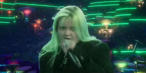 Alma esiintyi virtuaalikonsertissa, joka huipensi perjantaisen Helsinki-päivän.