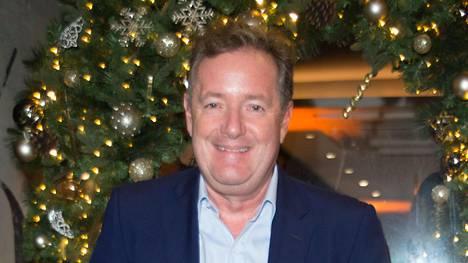 Piers Morgan on Britanniassa tunnettu tv-kasvo.