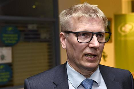 Keskustan Kimmo Tiilikainen huhtikuussa 2019.