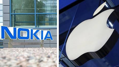 Nokia ja Apple riitelevät patenttiloukkauksista.