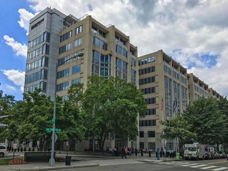 Nasan päämaja Washingtonissa.