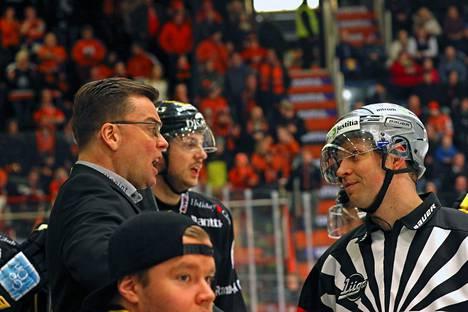 Pekka Tirkkonen valmensi Liigassa SaiPaa ennen JYPiin siirtymistä.