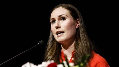 Pääministeri Sanna Marin valittiin Sdp:n puheenjohtajaksi elokuussa.