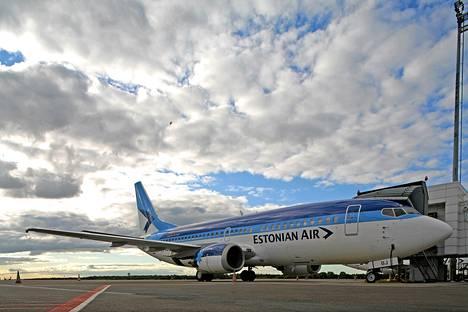Estonian Air lentää kolme päivittäistä vuoroa Tallinnan ja Helsingin välillä.