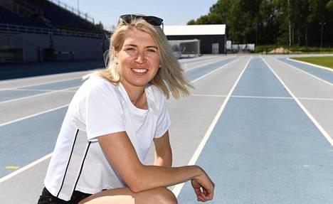 Sara Kuivisto tavoittelee tänä kesänä Suomen ennätystä 800 metrillä.