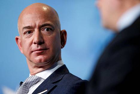 Amazonin toimitusjohtaja ja perustaja Jeff Bezos.