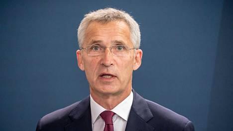 Naton pääsihteeri Jens Stoltenberg vieraili Saksassa myös viime viikolla.