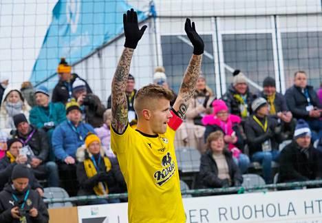 KuPS-kapteeni Petteri Pennanen teki Veikkausliigassa mestaruuteen päättyneellä kaudella kuusi maalia.