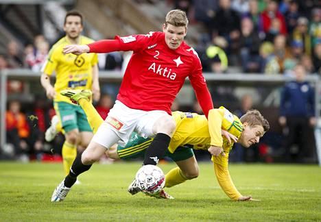 Tuomas Aho on ollut HIFK:n puolustuslinjan johtohahmo.