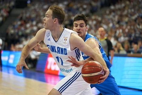 Petteri Koponen oli mukana viime helmikuussa pelatussa MM-karsintaottelussa Islantia vastaan.