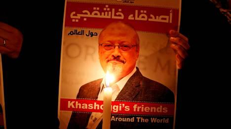 Saudiarabialainen toimittaja Jamal Khashoggi menetti henkensä Saudi-Arabian Istanbulin-lähetystössä viime lokakuussa.