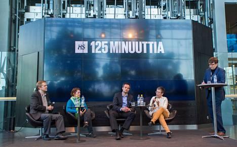 Sanomatalon Mediatorilla keskiviikkona järjestetyssä HS:n 125 minuuttia -tapahtumassa puitiin Ukrainan kriisin seurauksia.