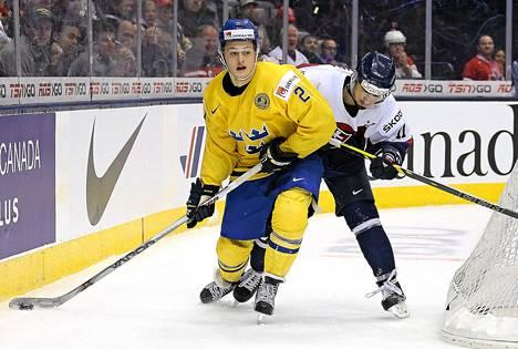 William Nylander oli Ruotsin paras pistemies alle 20-vuotiaiden MM-kisoissa.