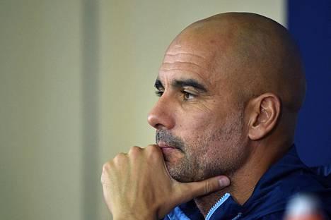 Pep Guardiola on valmentajana voittanut Espanjan liigan kolmesti, Bundesliigan kahdesti ja Valioliigan kerran.