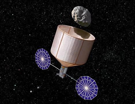 Yksityinen Keck-instituutti on ehdottanut Nasalle hanketta, jossa asteroidi napattaisiin asteroidivyöhykeeltä ja hilattaisiin Kuun kiertolaiseksi.