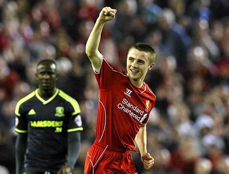 Jordan Rossiter iski Liverpoolin avausmaalin.
