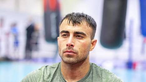 Vapaaottelija Makwan Amirkhani.
