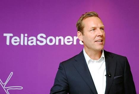 Johan Dennelind aloitti Telia-Soneran toimitusjohtajana viime heinäkuussa.