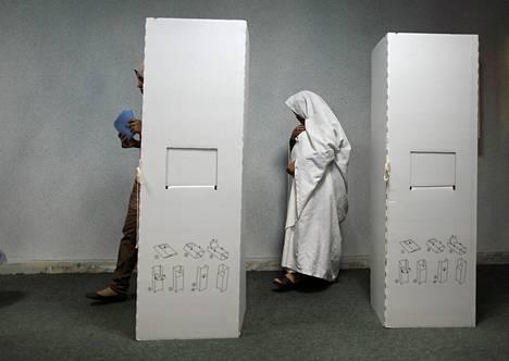 Libya äänesti lauantaina ensimmäisissä vapaissa vaaleissa 60 vuoteen.