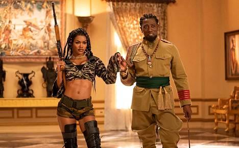 Teyana Taylor ja Wesley Snipes esiintyvät Prinssille morsian 2 -elokuvassa.